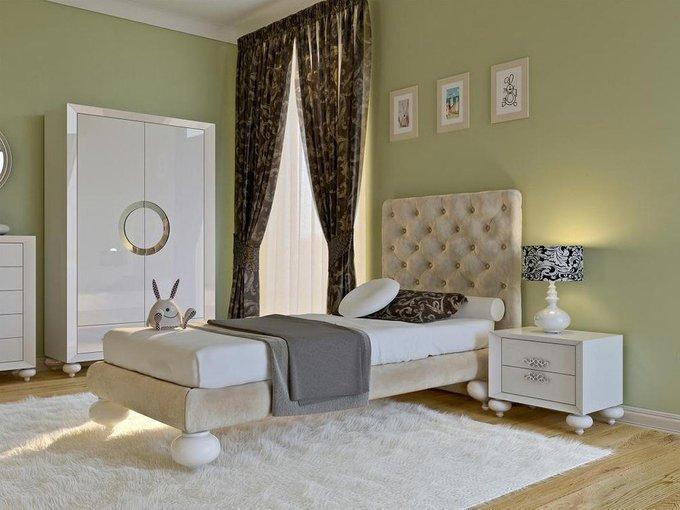 Кровать с решеткой PALERMO 90х200