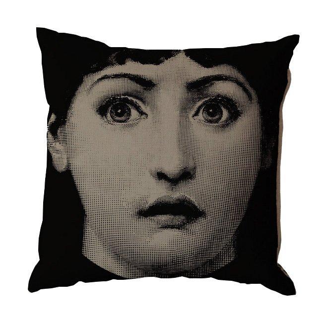 Подушка с портретом Лины Пьеро Форназетти Affection