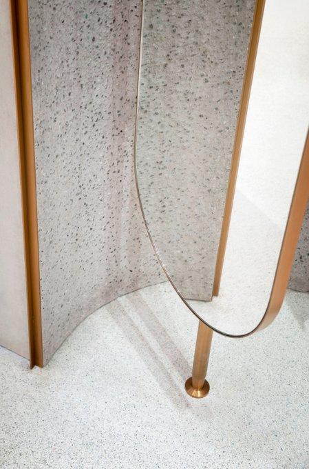 Овальные интерьерные перегородки Мinimo ovale в декоративной раме