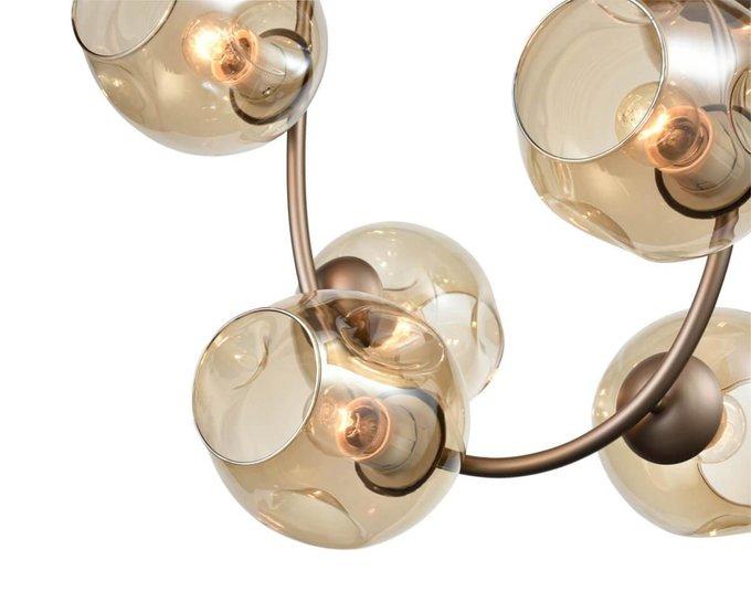 Подвесная люстра Astoria со стеклянными плафонами