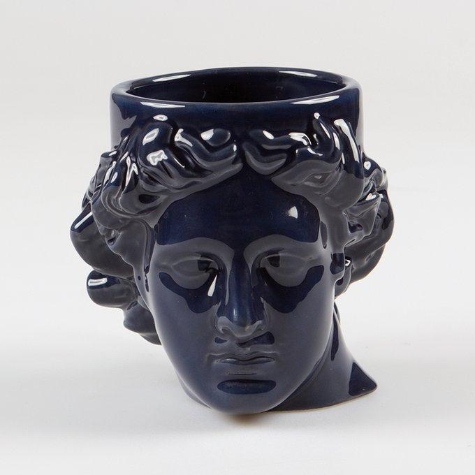 Кружка керамическая Doiy hestia синяя