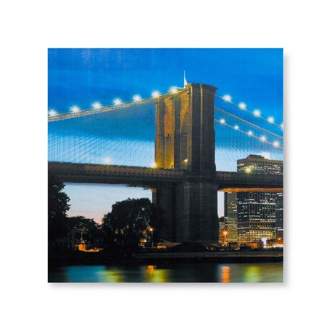 Картина The Brooklyn Bridge из трех частей