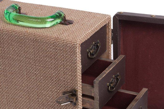 Декоративная шкатулка секционная для хранения украшений Pompadour