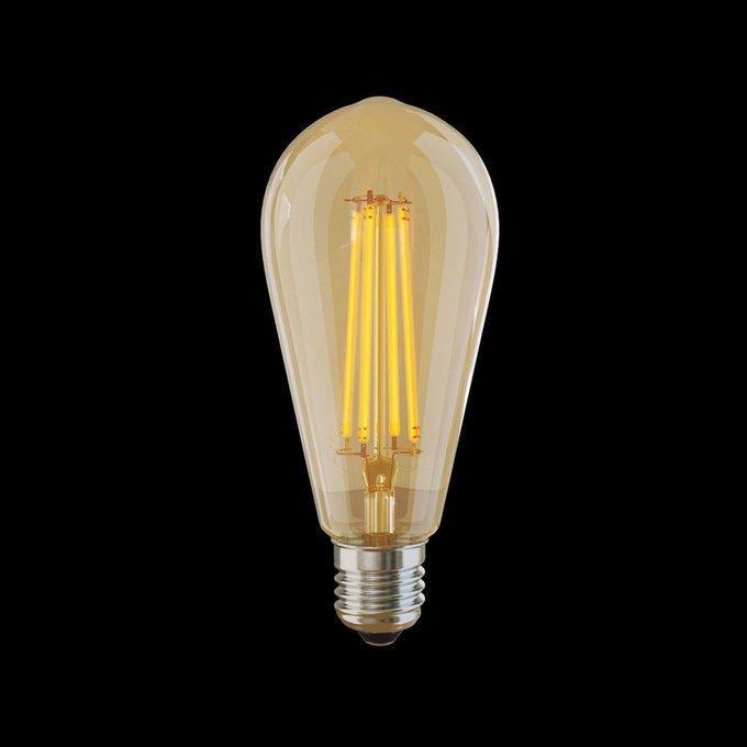 Лампа светодиодная колба стеклянная
