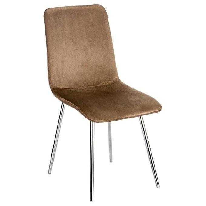 Обеденный стул Shik коричневого цвета
