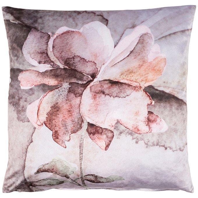 Декоративная подушка Hopeful с ярким цветочным принтом