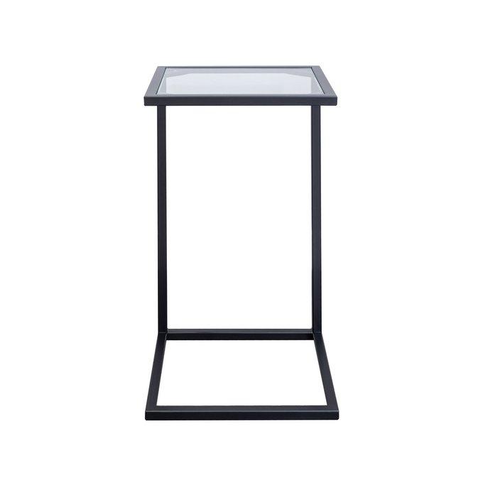 Прикроватный столик со стеклянной столешницей