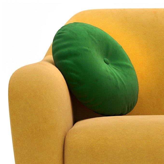 Трехместный диван Miami lux желтого цвета