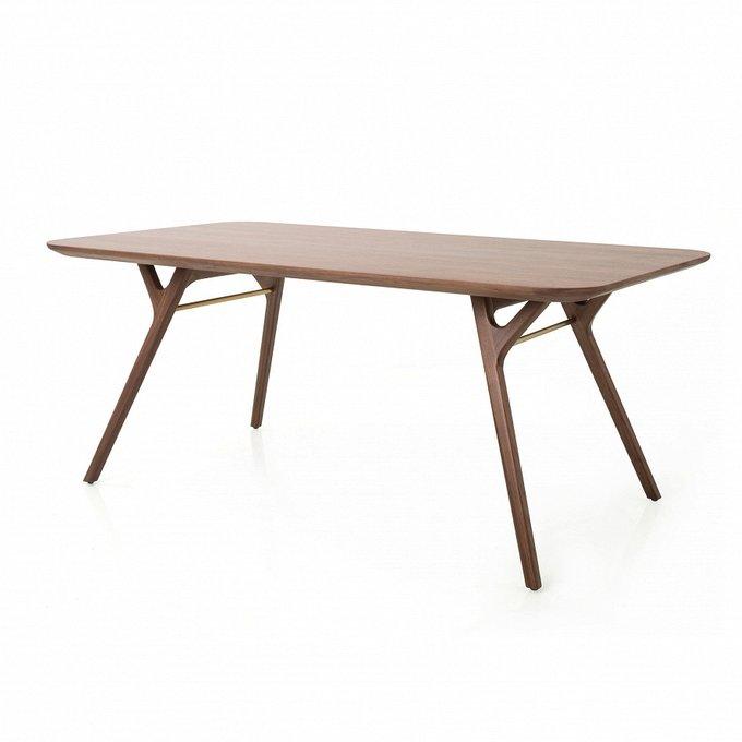 Обеденный стол Ren коричневого цвета