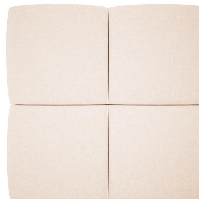 Кровать Wales светло-бежевого цвета 180х200