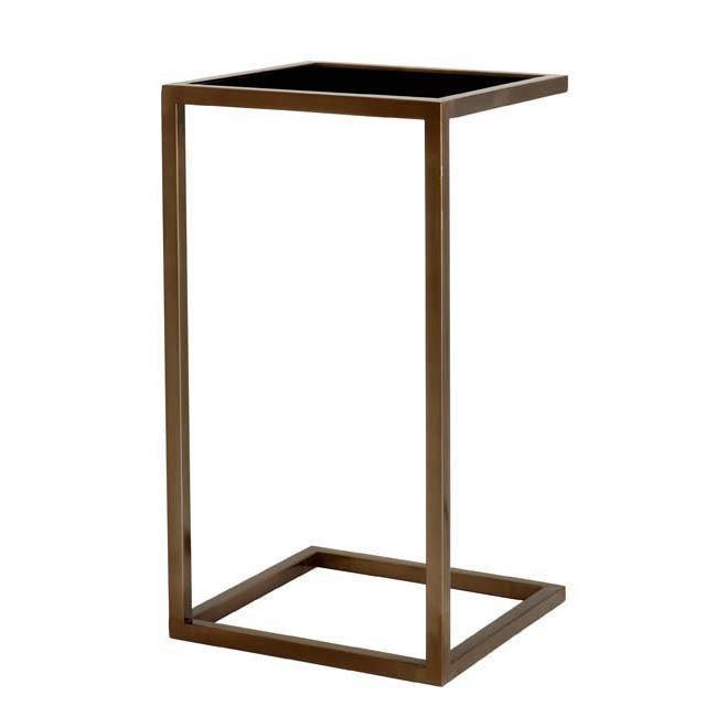 Приставной столик Galleria со стеклянной столешницей