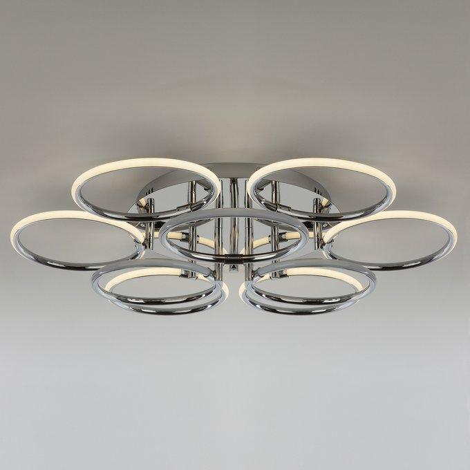 Потолочная светодиодная люстра Eurosvet Impulse
