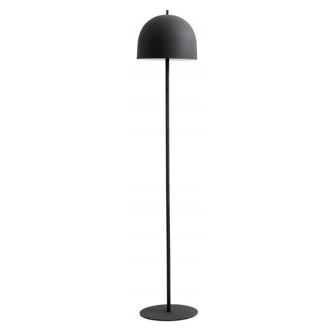 Торшер Glow из металла черного цвета