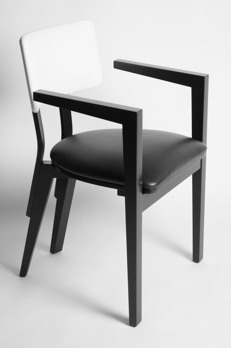 Кресло Eclipse с сидением из экокожи