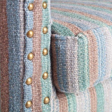 Кресло Джордж с обивкой из шерсти