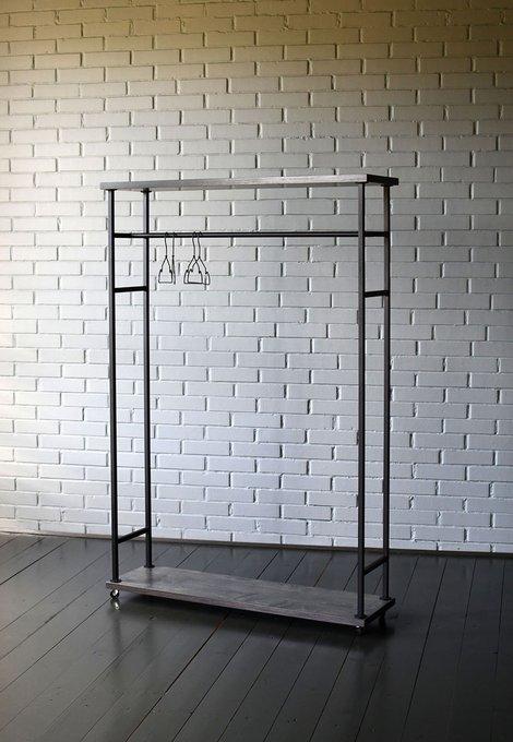Напольная вешалка Loft Ply с полками из березовой фанеры