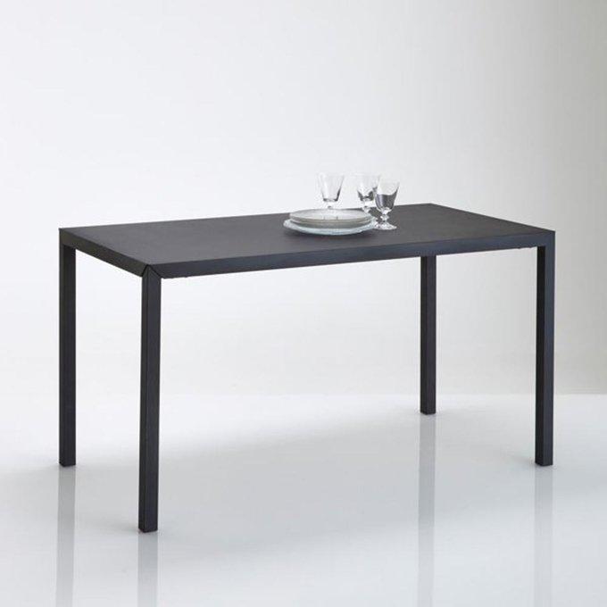 Обеденный столик Hiba черного цвета
