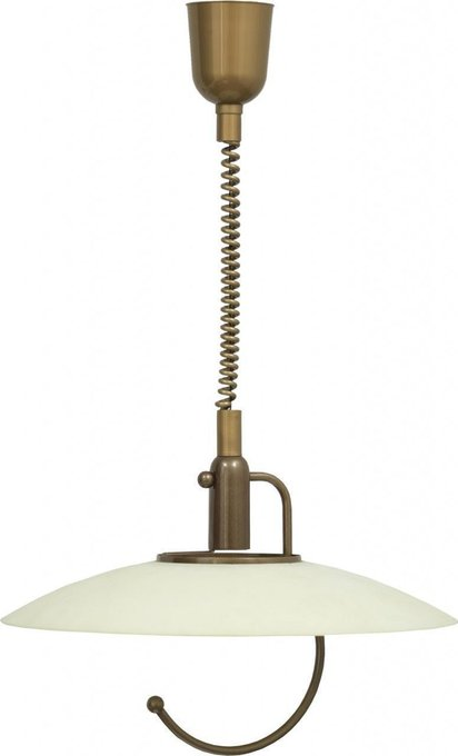 Подвесной светильник Scorpio с плафоном из стекла