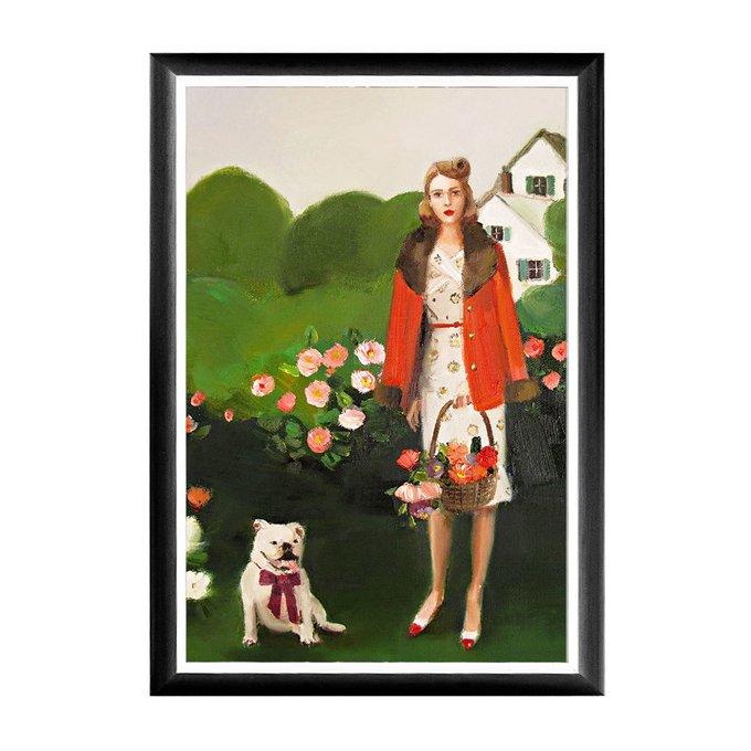 Арт-постер Шестой день рождения Беатрис