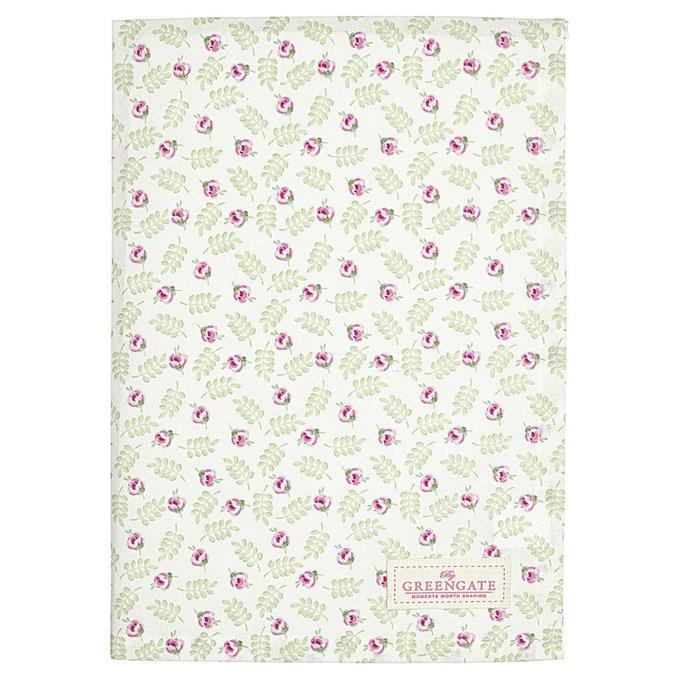 Полотенце Lily petit white из хлопка