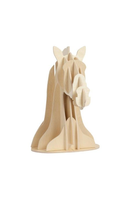 Декоративный бюст лошади Vixen Light Brown