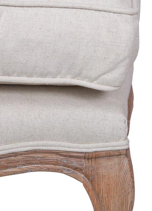 Оттоманка Nitro beige ottoman бежевого цвета
