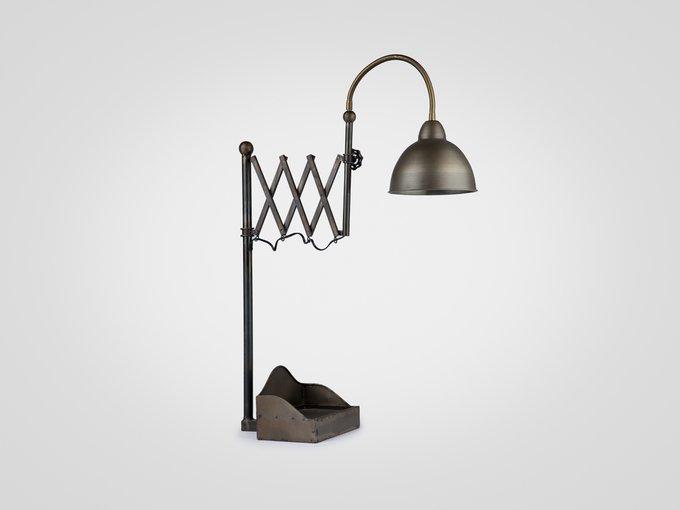 Настольная Лампа металлическая в индустриальном стиле