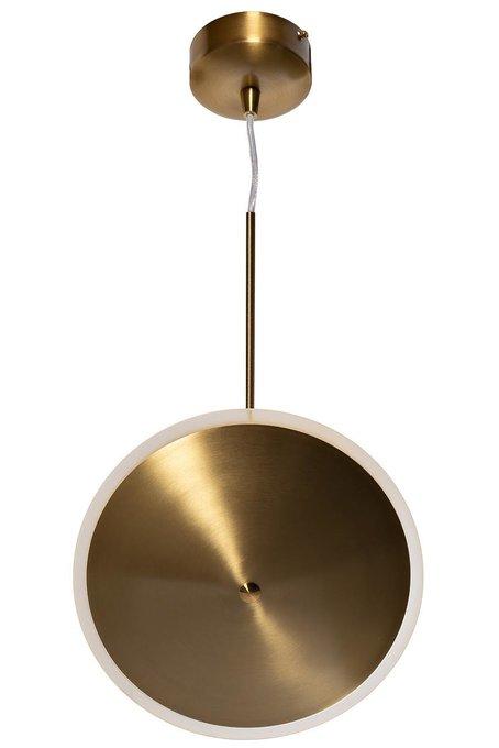 Лампа подвесная бронзового цвета
