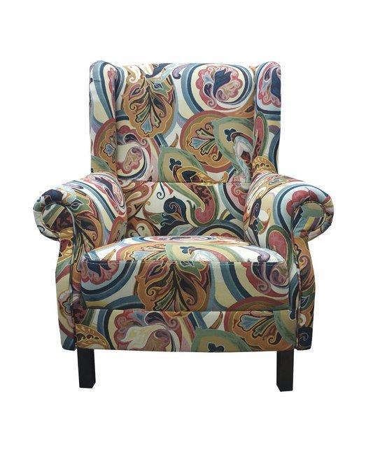 Кресло Монако на деревянных ножках