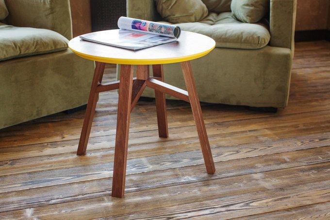 Журнальный стол MACK с круглой столешницей