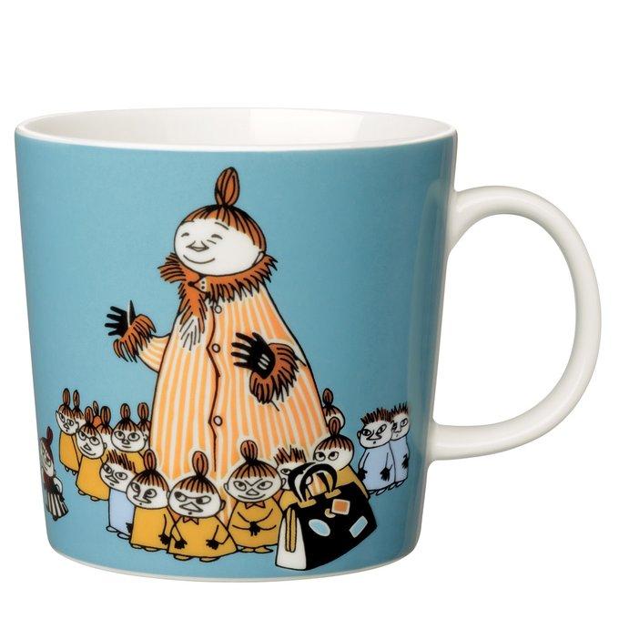 Кружка Moomin Мюмла-мама из фарфора
