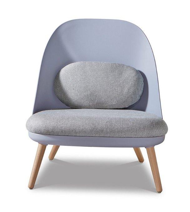 Кресло Noah blue голубого цвета