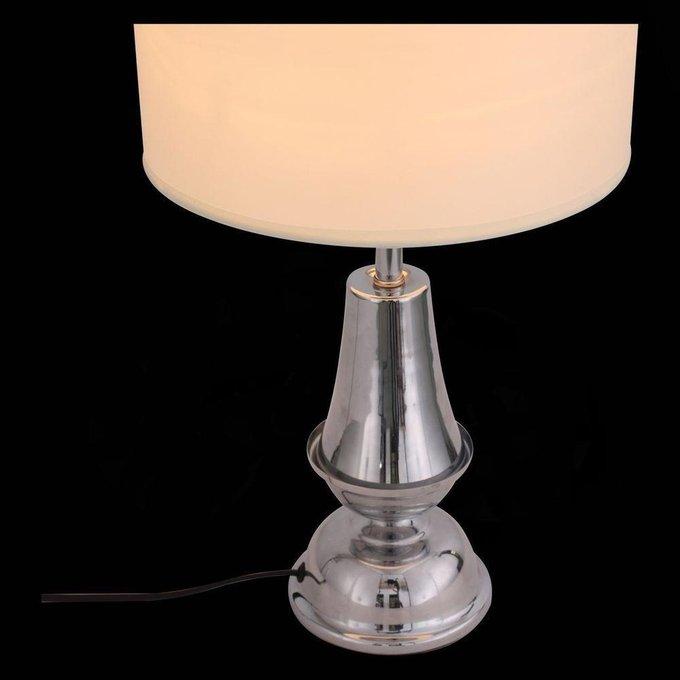 Настольная лампа Diritta с белым абажуром