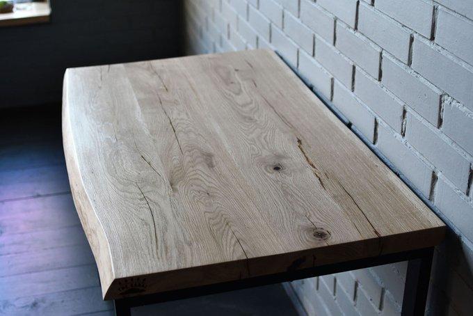 Рабочий стол Design Work Slab со столешницей из массива дуба