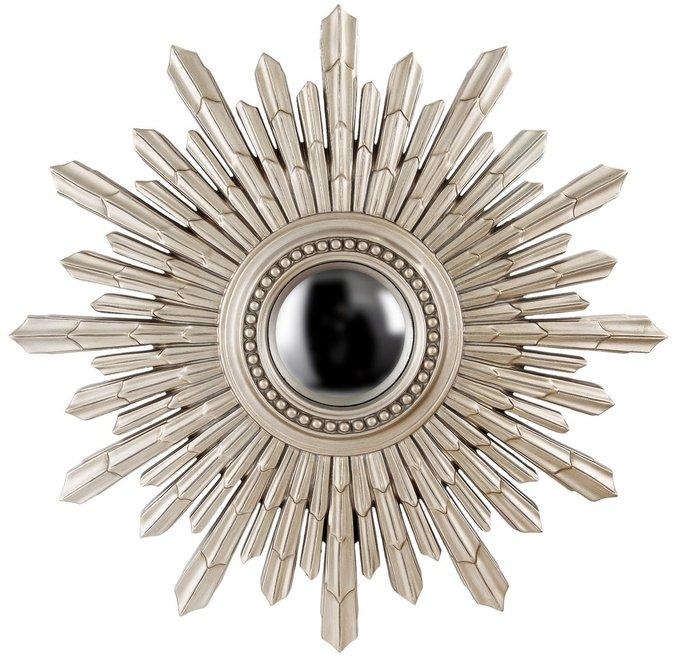 Настенное Зеркало-солнце New Solar Silver