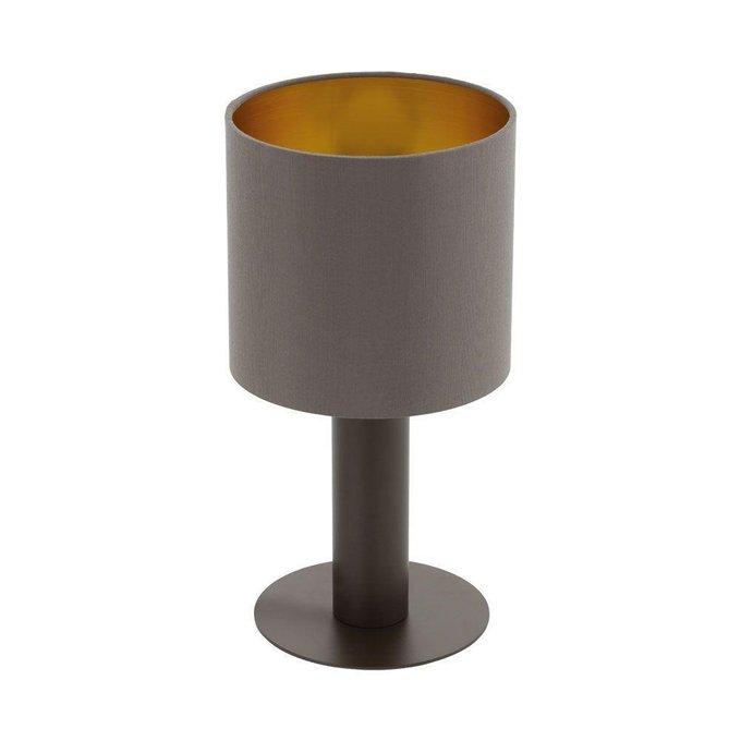 Настольная лампа Concessa коричневого цвета