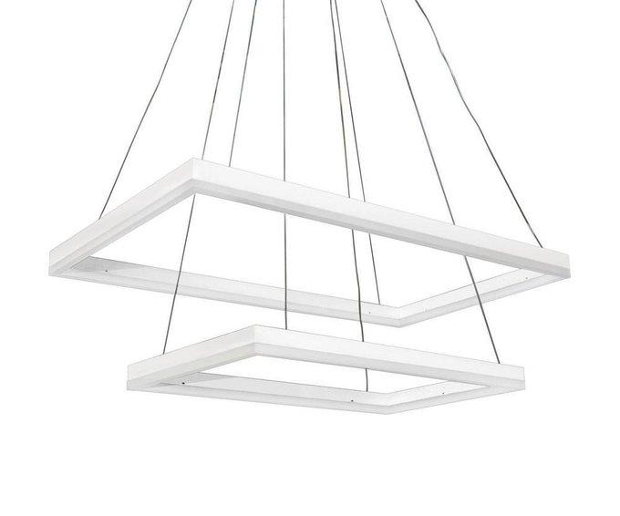 Подвесная светодиодная люстра Альтис белого цвета