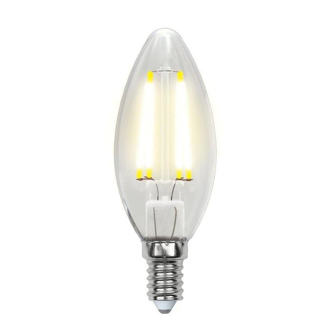 Лампа светодиодная Свеча прозрачная