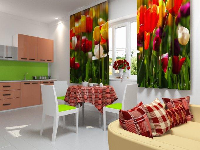 Кухонная скатерть: Уютная клетка