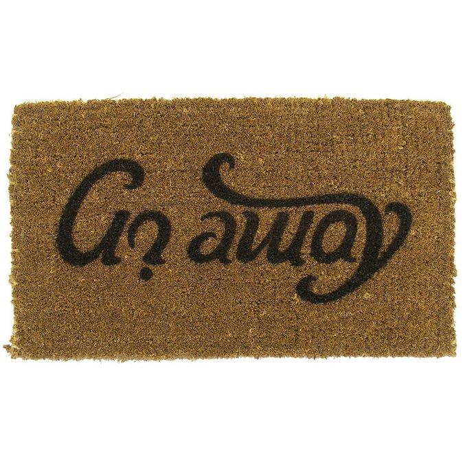 Коврик придверный Suck UK ambigram 65х41
