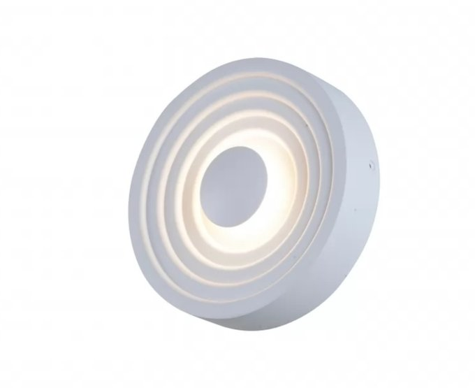 Накладной светильник Eclipse белого цвета