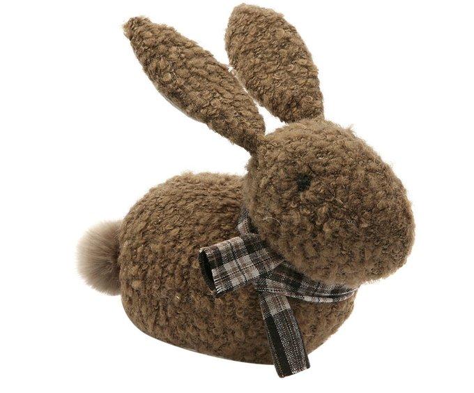 Дверной стоппер Rabbit коричневого цвета