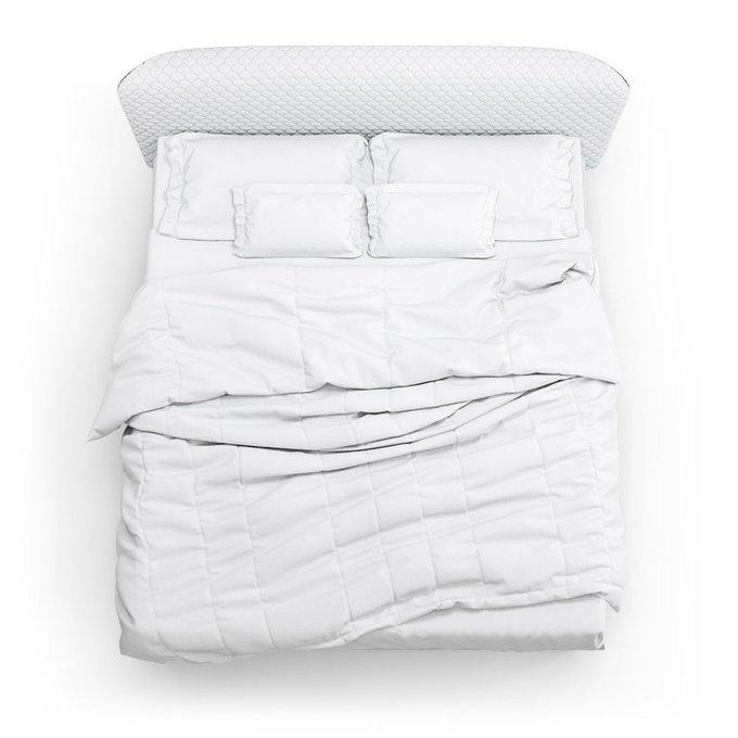 Кровать Венди белого цвета 140х200