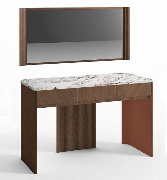 Стол для макияжа и зеркало Briotti цвет Умбра