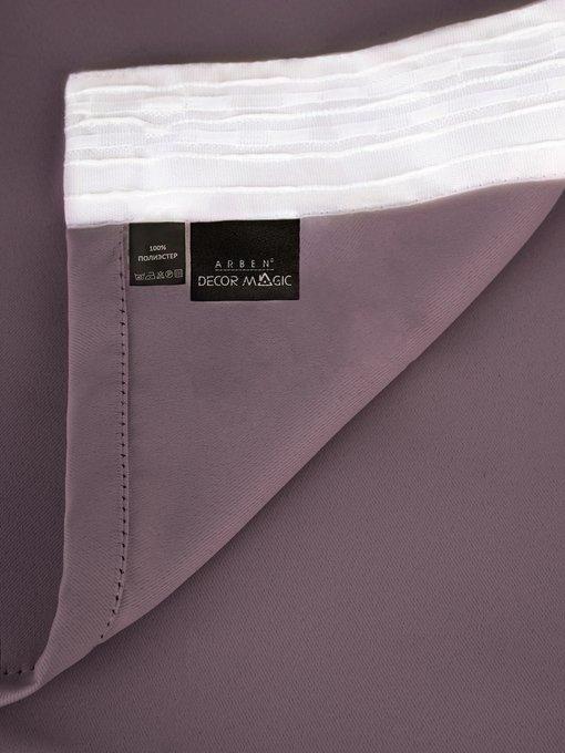 Штора блэкаут Vision 170х270 фиолетового цвета