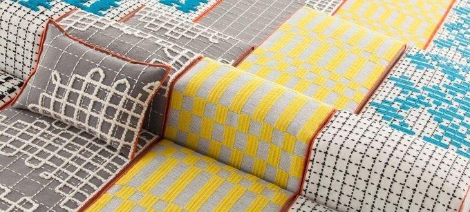 Чехол на подушку Bandas Space из натуральной шерсти