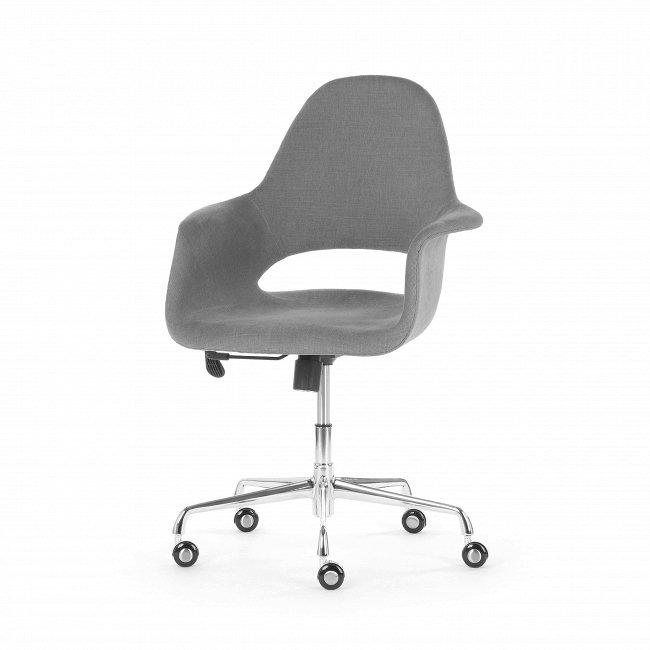 Кресло Organic Roll серого цвета