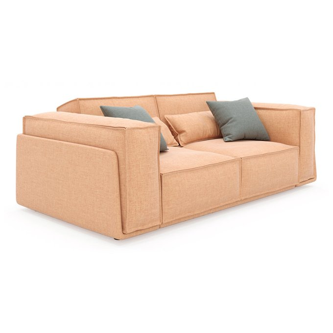 Диван-кровать Vento Classic двухместный оранжевого цвета