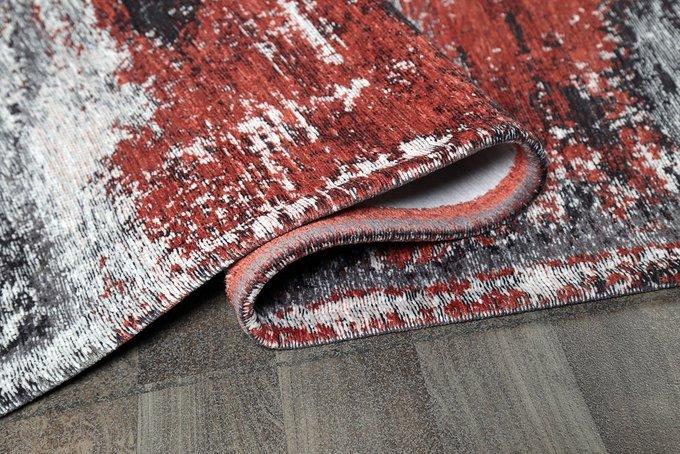 Ковер Sketch Tempera 160х230 серо-красного цвета
