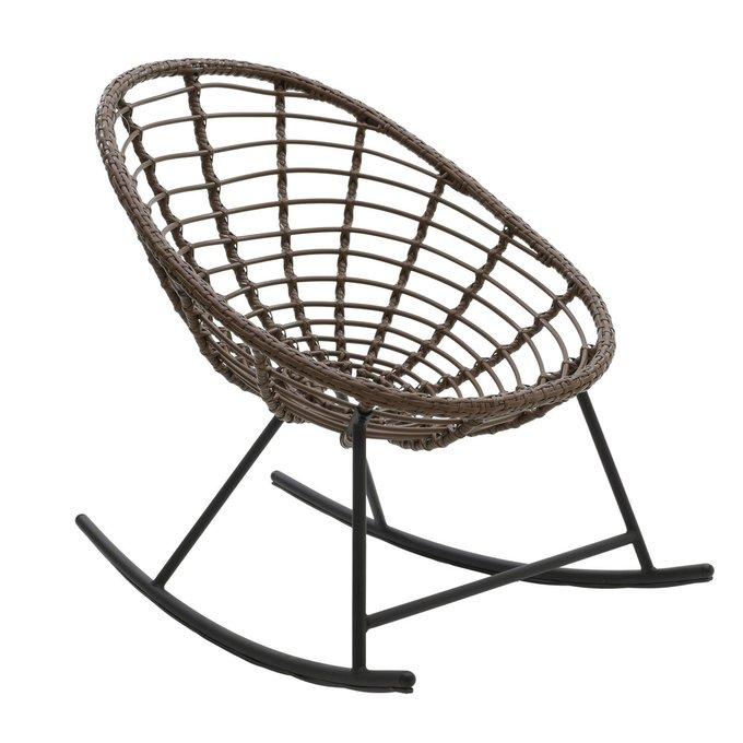 Кресло-качалка металлическое